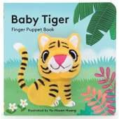 Board Books: Zoo :Baby Tiger: Finger Puppet Book
