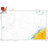 """Miscellaneous International :NGA Chart 100: Norway To Jan Mayen, Approx. Size 21"""" x 29"""" (SMALL FORMAT WATERPROOF)"""