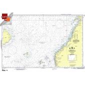 "Miscellaneous International :NGA Chart 101: Norwegian Sea, Approx. Size 21"" x 32"" (SMALL FORMAT WATERPROOF)"