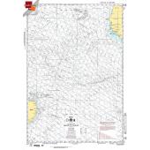 "Miscellaneous International :NGA Chart 106: Recife To Dakar, Approx. Size 21"" x 30"" (SMALL FORMAT WATERPROOF)"