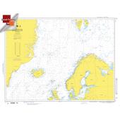 "Miscellaneous International :NGA Chart 10: Norwegian Seas And Adjacent Seas, Approx. Size 21"" x 27"" (SMALL FORMAT WATERPROOF)"