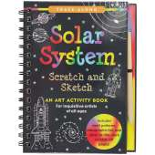 Activity Books: Space :Scratch & Sketch Solar System