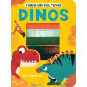 Board Books: Dinos :Touch-and-Feel Tower: Dinos