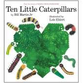 Butterflies, Bugs & Spiders :Ten Little Caterpillars