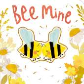Butterflies, Bugs & Spiders :Bee Mine