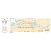 Atlantic Region Charts :CHS Chart 4142: Evandale to/à Ross Island