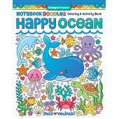 Activity Books: Aquarium :Notebook Doodles Happy Ocean: Coloring & Activity Book