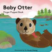 Board Books: Aquarium :Baby Otter: Finger Puppet Book
