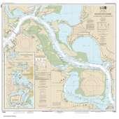Gulf Coast Charts :NOAA Chart 11329: Houston Ship Channel Alexander Island to Carpenters Bayou;San Jacinto and Old Rivers
