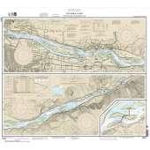 Pacific Coast Charts :NOAA Chart 18531: Columbia River Vancouver to Bonneville; Bonneville Dam