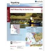 Kayaking, Canoeing, Paddling :Sea Trails Map:  Half Moon Bay to Santa Cruz
