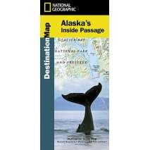 Alaska and British Columbia Travel & Recreation, Alaska's Inside Passage (National Geographic Map)
