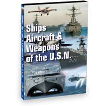 Maritime & Naval History, Ships, Aircraft & Weapons of the US Navy (DVD)