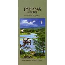 Bird Identification Guides, Panama: Central Panama Birds (Folding Pocket Guide)