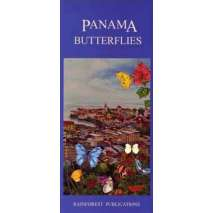 Insect Identification Guides, Panama: Butterflies (Folding Pocket Guide)