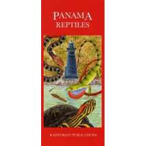 Reptile & Mammal Identification Guides, Panama: Reptiles (Folding Pocket Guide)