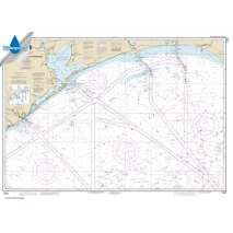 Waterproof NOAA Charts :Waterproof NOAA Chart 11330: Mermentau River to Freeport