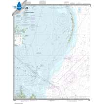 Waterproof NOAA Charts :Waterproof NOAA Chart 11363: Chandeleur and Breton Sounds