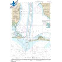 Waterproof NOAA Charts :Waterproof NOAA Chart 11377: Mobile Bay Approaches and Lower Half