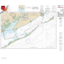 Small Format NOAA Charts, Small Format NOAA Chart 11404: Intracoastal Waterway Carrabelle to Apalachicola Bay;Carrabelle River