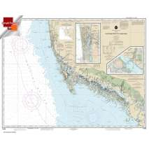 Small Format NOAA Charts, Small Format NOAA Chart 11429: Chatham River to Clam Pass;Naples Bay;Everglades Harbor