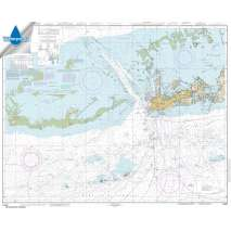 Waterproof NOAA Charts :Waterproof NOAA Chart 11441: Key West Harbor and Approaches