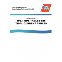 Marine Training, Tide Tables & Tidal Current Tables 1983