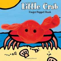 Fish, Sealife, Aquatic Creatures, Little Crab: Finger Puppet Book