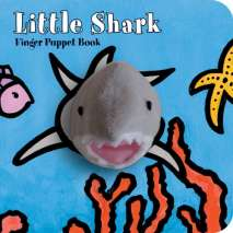 Fish, Sealife, Aquatic Creatures, Little Shark: Finger Puppet Book
