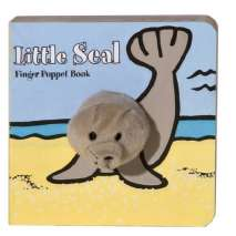 Fish, Sealife, Aquatic Creatures, Little Seal: Finger Puppet Book