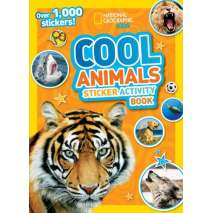 Stickers & Magnets, National Geographic Kids: Cool Animals Sticker Activity Book