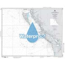 Region 1 - North America, Waterproof NGA Chart 17003: Strait of Juan de Fuca to Dixon Entrance