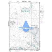 Region 2 - Central, South America, Waterproof NGA Chart 26190: Windward Passage