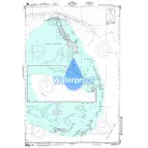 Region 2 - Central, South America, Waterproof NGA Chart 26328: West Indies - the Bahamas - Berry Islands