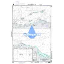 Region 2 - Central, South America, Waterproof NGA Chart 28150: Cabo Farallones to Tela