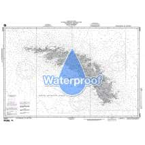 Region 2 - Central, South America, Waterproof NGA Chart 29040: South Georgia