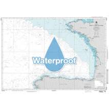 Region 3 - UK, Western Europe, Waterproof NGA Chart 37025: Brest to Cabo Finisterre - Bay of Biscay