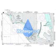 Region 5 - Western Africa, Mediterranean, Black Sea :Waterproof NGA Chart 54091: Bar Harbor and Approaches