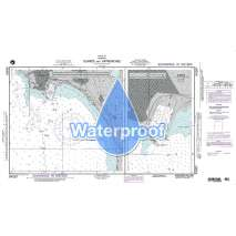 Region 5 - Western Africa, Mediterranean, Black Sea :Waterproof NGA Chart 54267: Durres and Approaches