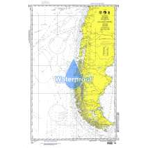 Miscellaneous International, Waterproof NGA Chart 609: Valparaiso to Islas Diego Ramirez
