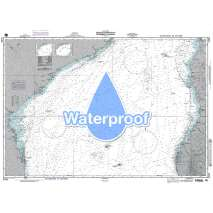 Region 6 - Eastern Africa, Southern & Western Asia, Waterproof NGA Chart 61450: Mozambique Channel