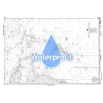 Miscellaneous International, Waterproof NGA Chart 622: South Pacific Ocean Sheet Iii