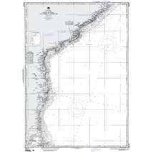 Region 6 - Eastern Africa, Southern & Western Asia, NGA Chart 63015: Calimere Point to Kalingapatam