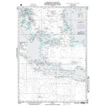 Region 7 - South East Asia, Indonesia, New Guinea, Australia, NGA Chart 71033: W. Part Java Sea So Passages to China