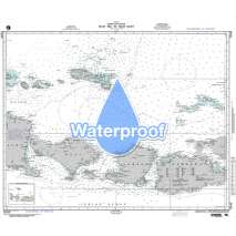 Region 7 - South East Asia, Indonesia, New Guinea, Australia, Waterproof NGA Chart 72045: Selat Bali to Tembuk Saleh