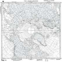 Miscellaneous International, NGA Chart 80: the Arctic Regions