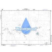 Region 8 - Pacific Islands, Waterproof NGA Chart 81023: Namonuito Atoll to Faraulep Atoll