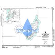 Region 8 - Pacific Islands, Waterproof NGA Chart 81127: Helen Reef [West Caroline Islands]