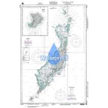 Region 8 - Pacific Islands, Waterproof NGA Chart 81141: Palau Is [Caroline Islands]