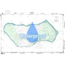 Region 8 - Pacific Islands, Waterproof NGA Chart 81604: Wotje Atoll:Marshall Islands